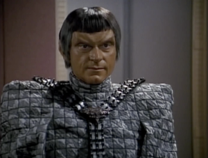Fact: 85% of the Romulan budget goes into shoulder pads.